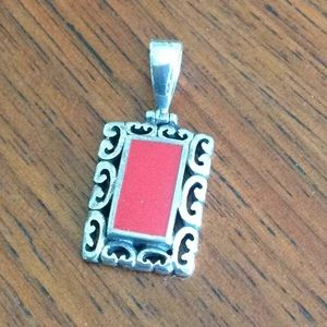 Jewelry - Silver and red slide!